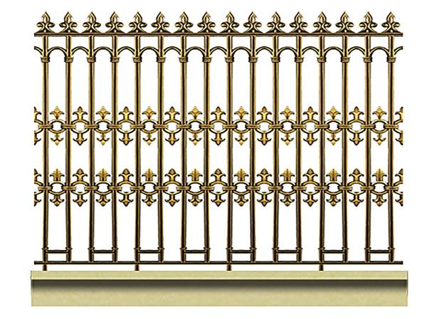 Mẫu hàng rào nhôm đúc -HR04
