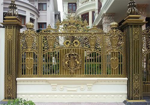 Mẫu hàng rào nhôm đúc -HR09