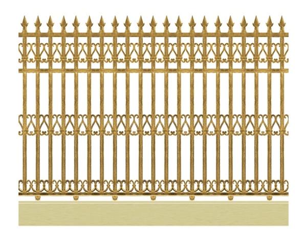 Mẫu hàng rào nhôm đúc -HR14
