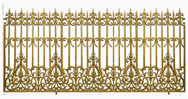 Mẫu hàng rào nhôm đúc -HR17