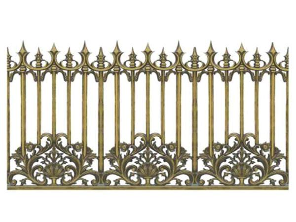 Hàng rào nhôm đúc -HR01